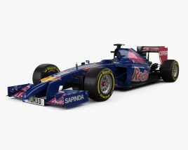 3D model of Toro Rosso STR9 2014