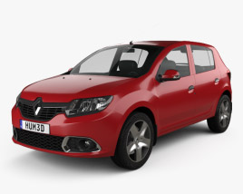 3D model of Renault Sandero (BR/RU) 2014