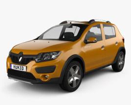 Renault Sandero Stepway (BR/RU) 2014 3D模型