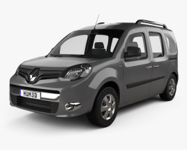 3D model of Renault Kangoo 2014