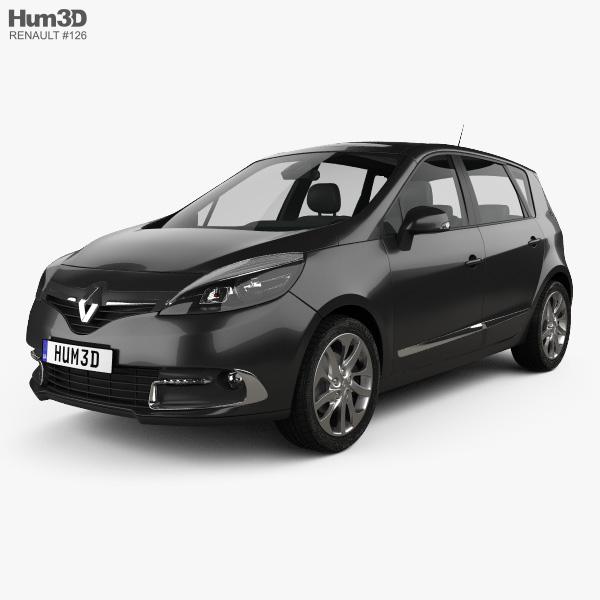 Renault Scenic MPV 2013 3D model