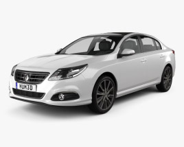 3D model of Renault Latitude 2013