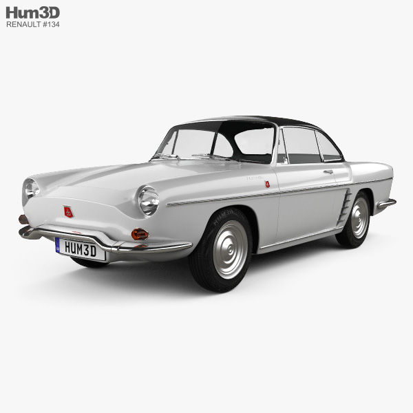 Renault Floride 1962 3D model