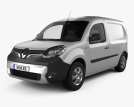 3D model of Renault Kangoo Van 2014
