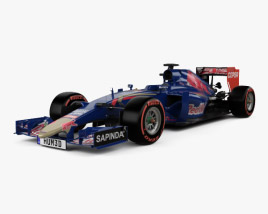3D model of Renault STR10 Toro Rosso 2015