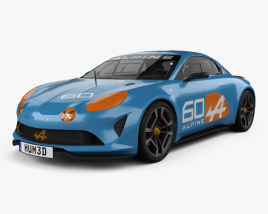 3D model of Renault Alpine Celebration 2015