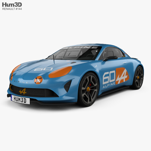 Renault Alpine Celebration 2015 3D model
