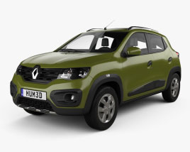 Renault Kwid 2016 Modello 3D