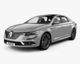 3D model of Renault Talisman 2016