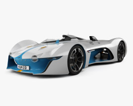 3D model of Renault Alpine Vision Gran Turismo 2015