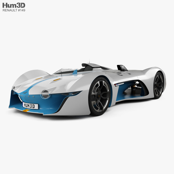 Renault Alpine Vision Gran Turismo 2015 3D model