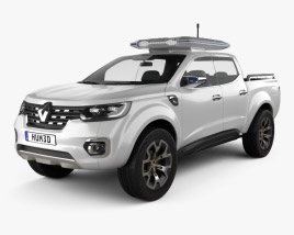 3D model of Renault Alaskan Concept 2015