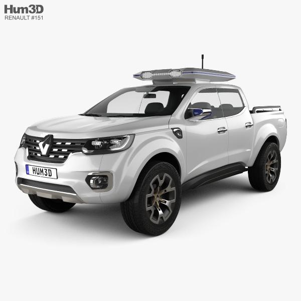 Renault Alaskan Concept 2015 3D model