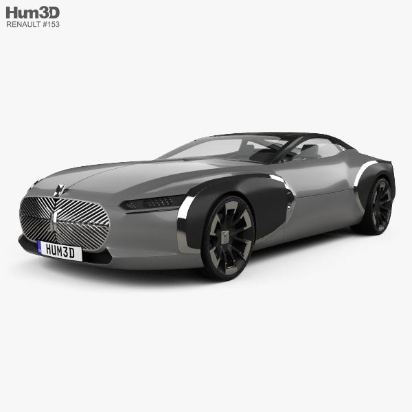 Renault Coupe C 2016 3D model