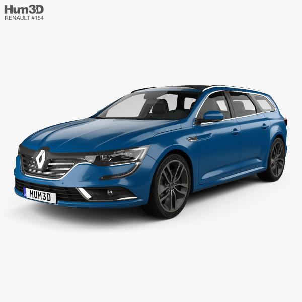 Renault Talisman estate 2016 3D model