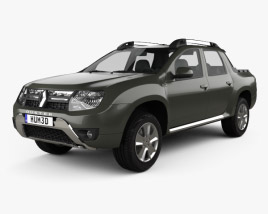 3D model of Renault Duster Oroch 2015