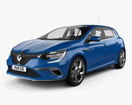 3D model of Renault Megane GT 2016