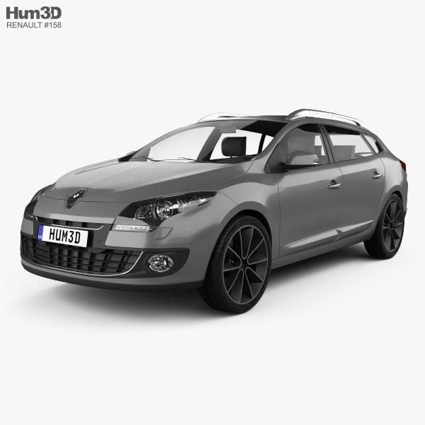 Renault Megane Estate 2012 3D model