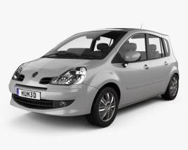 3D model of Renault Grand Modus 2008