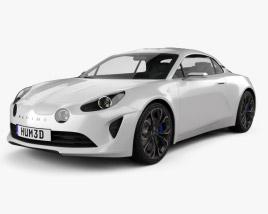 Renault Alpine Vision 2016 3D model