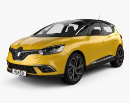 3D model of Renault Scenic 2016