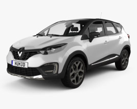 3D model of Renault Captur 2017