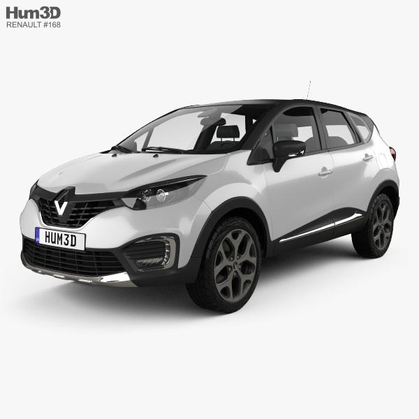 Renault Captur 2017 3D model