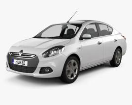 3D model of Renault Scala 2012