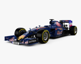 3D model of Renault Toro Rosso STR11 2016