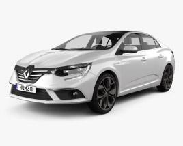 3D model of Renault Megane sedan 2016