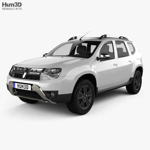 3D model of Renault Duster (CIS) 2015