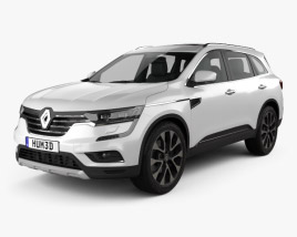 3D model of Renault Koleos 2016