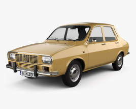 3D model of Renault 12 1969