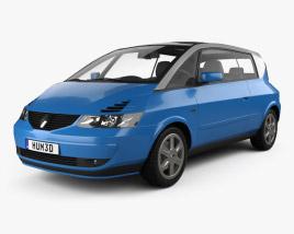 3D model of Renault Avantime 2001