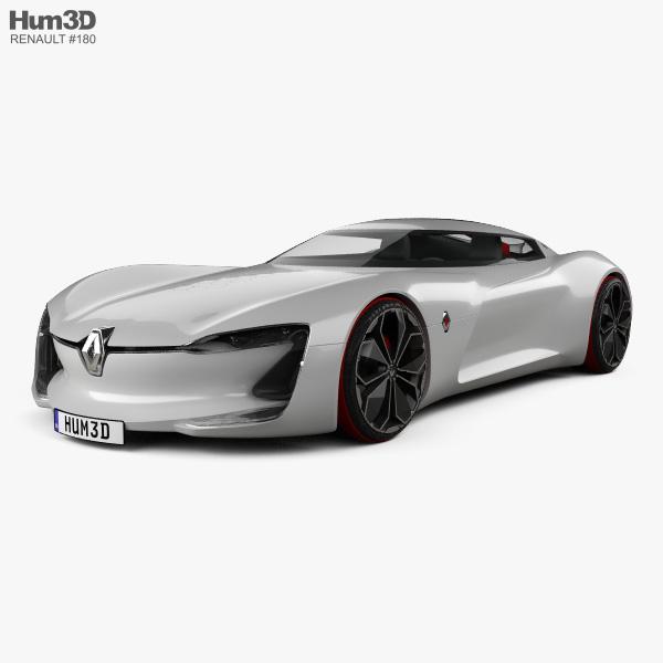 Renault Trezor 2016 3D model