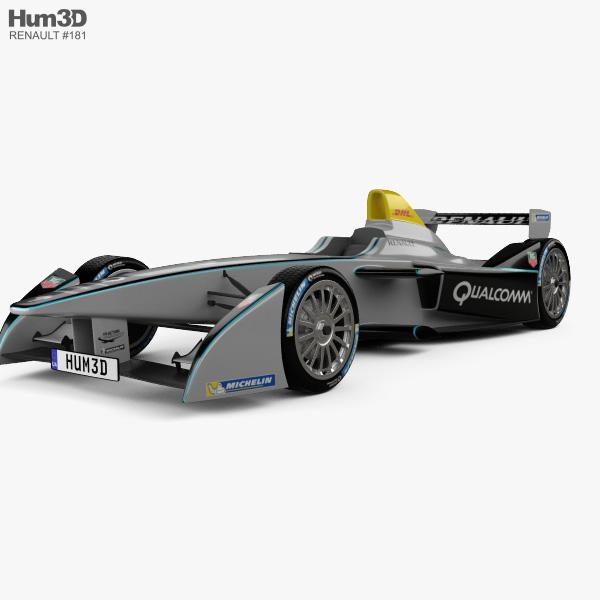 Spark-Renault SRT_01E 2014 3D model