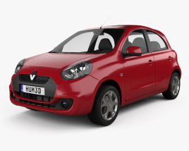 3D model of Renault Pulse 2011