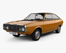 3D model of Renault 15 1971