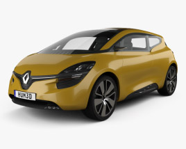 3D model of Renault R-Space 2011
