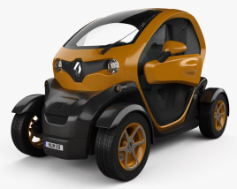 3D model of Renault Twizy ZE Cargo 2013