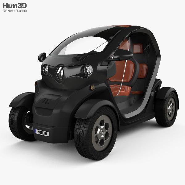 Renault Twizy ZE Expression 2012 3D model
