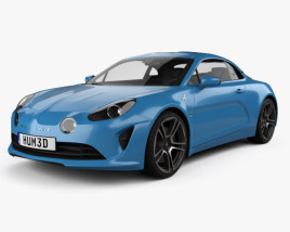 3D model of Renault Alpine A110 Premiere Edition 2017