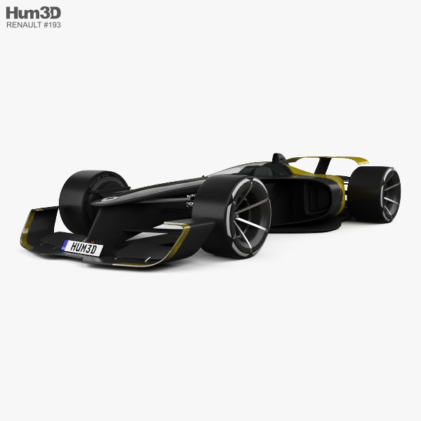 Renault RS Vision 2027 3D model