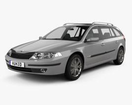 Renault Laguna estate 2000 3D model