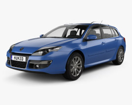 3D model of Renault Laguna grandtour 2010
