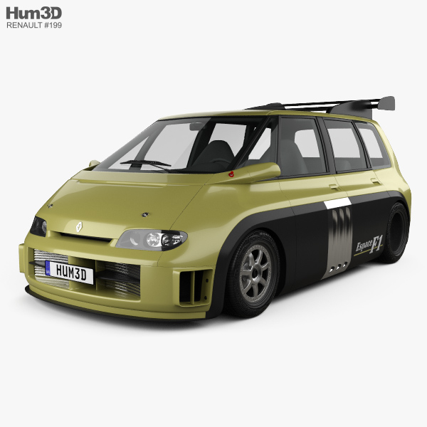 3D model of Renault Espace F1 1994