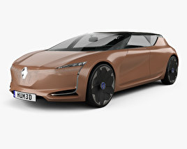 3D model of Renault Symbioz concept 2017
