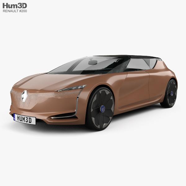 Renault Symbioz Concept 2017 3D model