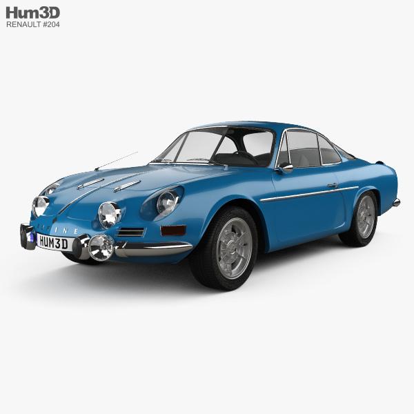 Renault Alpine A110 1600S 1972 3D model