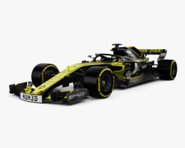 3D model of Renault R.S.18 2018